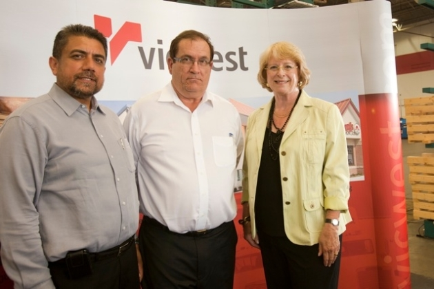 Vicwest Opening with Sukh Dhaliwal and Vicki Huntington