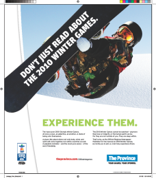 Canwest Ad Campaign