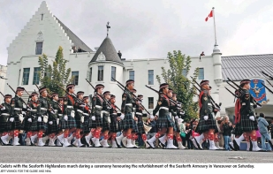 capture_cadets-with-the-seaforth-highlanders-_jeff-vinnick-for-the-globe-and-mail
