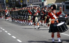 The Seaforth Highlanders of Canada March Out