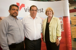 Launch of Vicwest in Delta, BC.